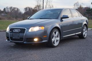Used 2008 Audi A4 Quattro 2.0T S-Line Rare 6-Speed Manual for sale in North York, ON