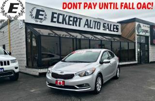 Used 2015 Kia Forte LX WITH BLUETOOTH for sale in Barrie, ON