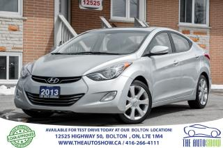 Used 2013 Hyundai Elantra Limited w/Navigation for sale in Caledon, ON