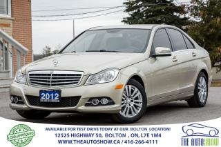 Used 2012 Mercedes-Benz C250 C 250 4-MATIC AWD for sale in Caledon, ON