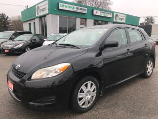 Used 2009 Toyota Matrix Auto l Hatch l CD/Aux l Low Km for sale in Waterloo, ON
