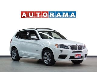 Used 2011 BMW X3 M SPORT PKG NAVIGATION LEATHER SUNROOF 4WD for sale in North York, ON
