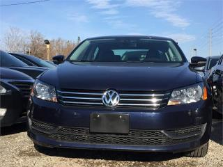 Used 2012 Volkswagen Passat 2.5L Auto Comfortline for sale in Mississauga, ON