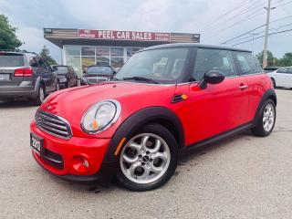 Used 2013 MINI Cooper BLUETOOTH PANORAMIC ROOF LEATHER HEATED SEATS COUPE CERTIFIED for sale in Mississauga, ON