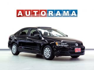 Used 2015 Volkswagen Jetta TDI HIGHLINE PKG LEATHER SUNROOF for sale in North York, ON