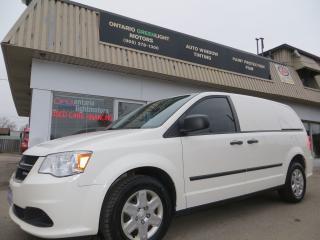 Used 2012 Dodge Grand Caravan RAM Cargo Van,Solid side panels,divider for sale in Mississauga, ON