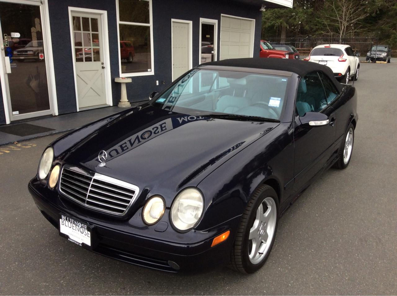 used 2002 mercedes benz clk 430 for sale in parksville british columbia. Black Bedroom Furniture Sets. Home Design Ideas