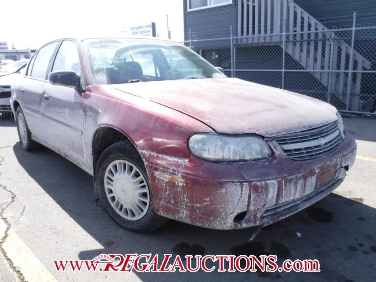 2003 Chevrolet MALIBU  4D SEDAN