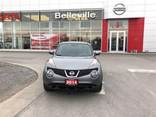 Used 2014 Nissan Juke SV 1 OWNER LOCAL TRADE for sale in Belleville, ON