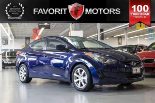 Used 2013 Hyundai Elantra GLS | MANUAL | Bluetooth | HEATED SEATS for sale in North York, ON