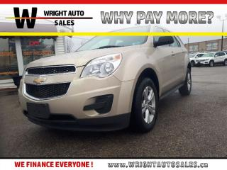 Used 2011 Chevrolet Equinox LS|BLUETOOTH|CRUISE CONTROL|157,000 KMS for sale in Cambridge, ON