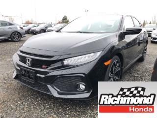 New 2018 Honda Civic SI for sale in Richmond, BC