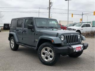 Used 2014 Jeep Wrangler Unlimited SAHARA**NAVIGATION**BLUETOOTH** for sale in Mississauga, ON