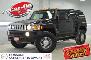 Used 2007 Hummer H3 4X4 RARE 5 SPEED SUNROOF A/C ONLY 121,000 KM for sale in Ottawa, ON