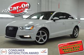 Used 2015 Audi A3 2.0 TDI Komfort LEATHER PANO ROOF HTD SEATS for sale in Ottawa, ON