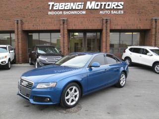 Used 2009 Audi A4 PUSH START | NO ACCIDENTS | LEATHER | SUNROOF | QUATTRO for sale in Mississauga, ON