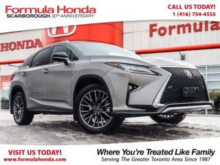 Used 2017 Lexus RX 350 F-SPORT | PRISTINE CONDITION ONLY $53,994 for sale in Scarborough, ON