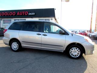 Used 2005 Toyota Sienna CE 7 Passenger AUTO CERTIFIED 2YR WARRANTY for sale in Milton, ON