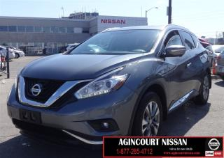 Used 2015 Nissan Murano SL |NAVIGATION|LEATHER|360 CAM|PANO ROOF for sale in Scarborough, ON