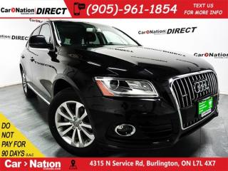 Used 2017 Audi Q5 2.0T Progressiv| AWD| LEATHER| PANO ROOF| for sale in Burlington, ON