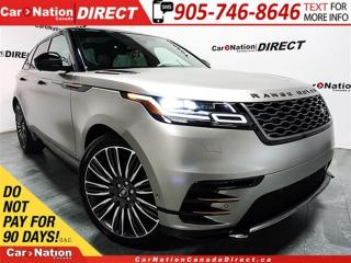 Used 2018 Land Rover RANGE ROVER VELAR P380 First Edition| MATTE PAINT| for sale in Burlington, ON