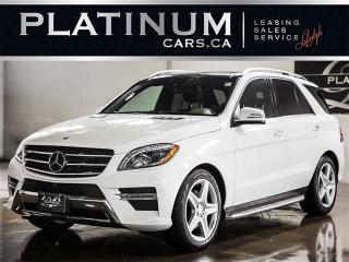 Used 2015 Mercedes-Benz ML 350 BlueTEC, AMG SPORT, NAVI, CAM, PANO, LTHR for sale in Toronto, ON