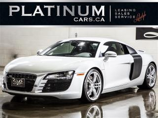 Used 2009 Audi R8 QUATTRO, R-TRONIC, NAVI, CAM, ALCANTARA for sale in North York, ON