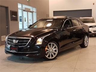 Used 2015 Cadillac ATS Sedan 2.0L TURBO-LUXURY-AWD-NAVIGATION-CAM-SUNROOF-84KM for sale in York, ON