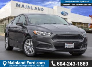 Used 2015 Ford Fusion SE LOW KMS, BC LOCAL for sale in Surrey, BC