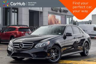 Used 2016 Mercedes-Benz E-Class E 400 4Matic Pano_Sunroof Heat  Seats H/K Surround Audio for sale in Thornhill, ON