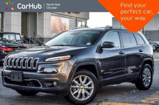 Used 2017 Jeep Cherokee Limited 4x4|Tech.Pkg|Nav|BackUpCam|PkAsst.|AdptvCruiseCtrl|18