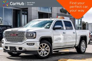 Used 2016 GMC Sierra 1500 Denali 4x4|Crew|Driver Alert Pkg|Bedliner|BOSE|HitchReceiver for sale in Thornhill, ON