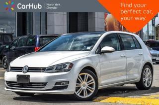 Used 2015 Volkswagen Golf Highline TDI|Manual|Pano_Sunroof|Heat Frnt.Seats|17