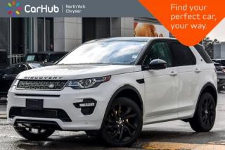 Used 2017 Land Rover Discovery Sport HSE Luxury AWD|Driver Asst+.,Entertain Pkgs|19