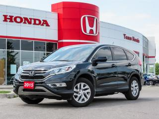 Used 2015 Honda CR-V EX...ONE OWNER...CLEAN CARPROOF for sale in Milton, ON