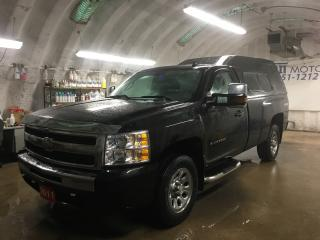 Used 2011 Chevrolet Silverado 1500 LS*4WD*ALLOYS*BOX LINER*SIDE STEPS*LEER BOX CAB*HOOD DEFLECTOR/RAIM GUARDS*FRONT TOW HOOKS*HITCH RECEIVER* for sale in Cambridge, ON