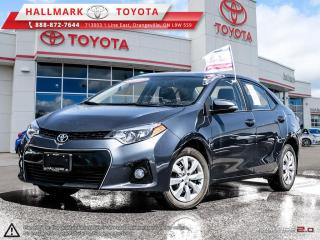 Used 2016 Toyota Corolla 4-door Sedan S CVTi-S S PACKAGE, WELL EQUIPPED, BLUE TOOTH AND MORE for sale in Mono, ON