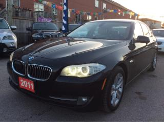 Used 2011 BMW 5 Series 528i/NAV/Bluetooth/Leather/Sunroof/MUST SEE! for sale in Scarborough, ON