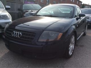 Used 2004 Audi TT Leather/Heated Seats/Alloys/Must See!!! for sale in Scarborough, ON