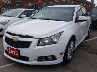 Used 2013 Chevrolet Cruze Bluetooth/Leather/Sunroof/Heated Seats EXTRA CLEAN for sale in Scarborough, ON
