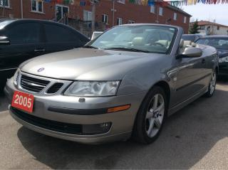 Used 2005 Saab 9-3 Manual/NAV/Leather/Heated Seats/Alloys/AMAZING!!! for sale in Scarborough, ON