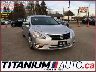 Used 2014 Nissan Altima SL+GPS+Camera+Blind Spot & Lane Warning+Leather+XM for sale in London, ON
