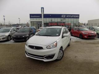 Used 2017 Mitsubishi Mirage ES/BLUETOOTH/AC/POWER OPTION for sale in Edmonton, AB