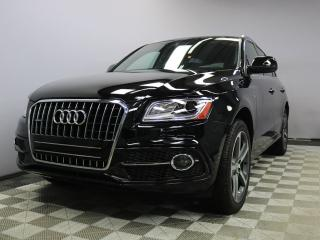Used 2017 Audi Q5 3.0T TECHNIK S-Line Quattro - Local One Owner Trade In | No Accidents | 3M Protection Applied | Navigation | Back Up Camera | Parking Sensors | Heated Front/Rear Seats | Dual Zone Climate Control with AC | Blind Spot Monitor | Memory Seats | Bluetooth | 2 for sale in Edmonton, AB
