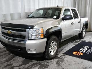 Used 2008 Chevrolet Silverado 1500 LT 4x4 Crew Cab 5.75 ft. box 143.5 in. WB for sale in Red Deer, AB