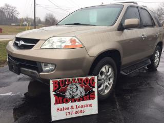Used 2003 Acura MDX for sale in Glencoe, ON