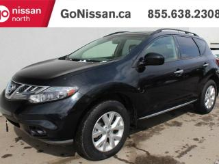 Used 2013 Nissan Murano SL, ONE OWNER, LEATHER, SUNROOF, HEATED SEATS for sale in Edmonton, AB