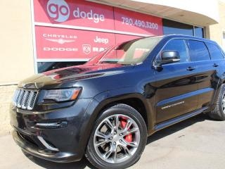 Used 2014 Jeep Grand Cherokee SRT 4x4 / Panoramic Sunroof / GPS Navigation for sale in Edmonton, AB