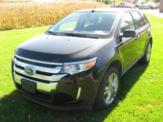 Used 2013 Ford Edge Limited for sale in Burgessville, ON