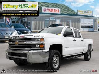 Used 2017 Chevrolet Silverado 2500 Work Truck. GREAT SHAPE for sale in Tilbury, ON